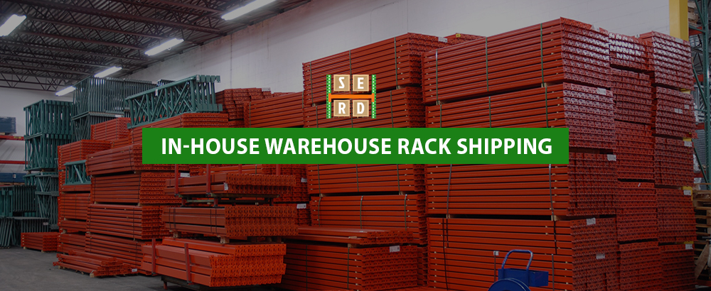 In-house Warehouse Rack Shipping