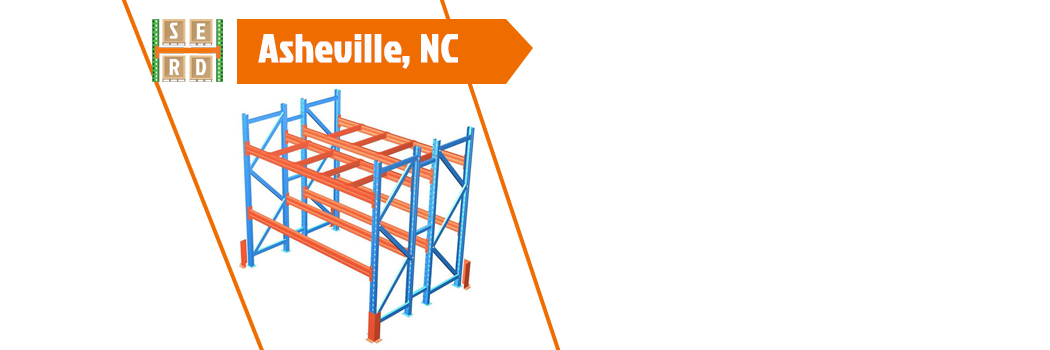 empty-pallet-rack-with-orange-beam-and-column-protector