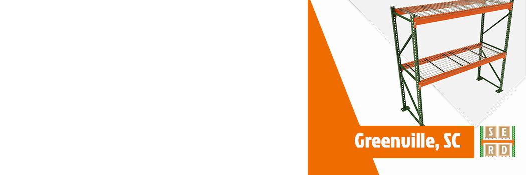 empty-pallet-rack-with-orange-wire-decks