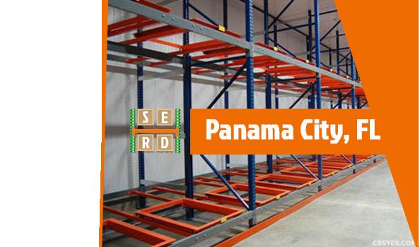 empty-warehouse-racks-with-orange-beams