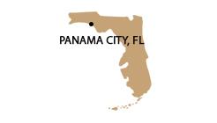 Panama-City-FL-map-silhouette-green