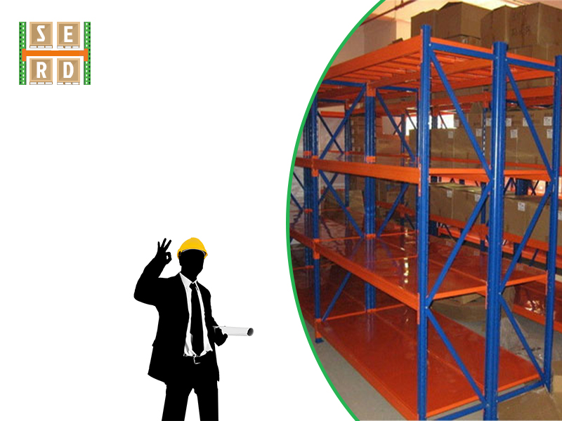 new-green-and-orange-colored-pallet-rack