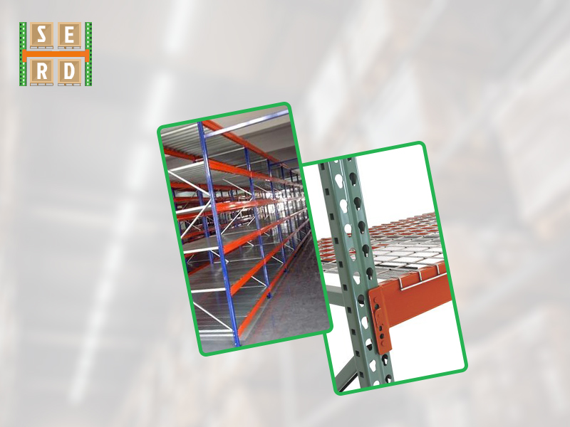 assembled-tear-drop-style-new-empty-structural-steel-racks-for-warehouse