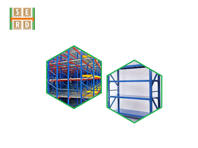 complexly-assembled-structural-steel-racks-in-a-warehouse