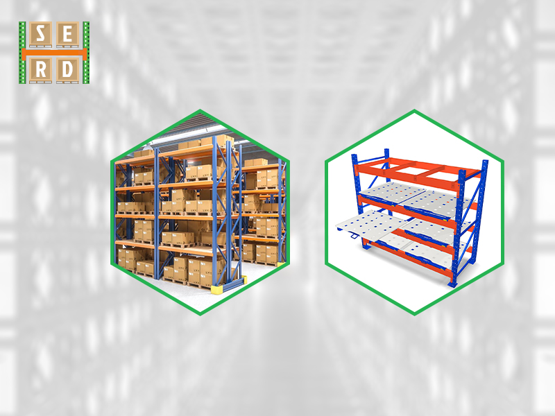 brand-new-structural-steel-rack-and-installed-structural-steel-racks-with-storage-items