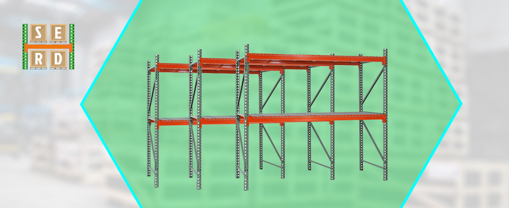 fully-assembled-tear-drop-style-structural-steel-rack-for-warehouse