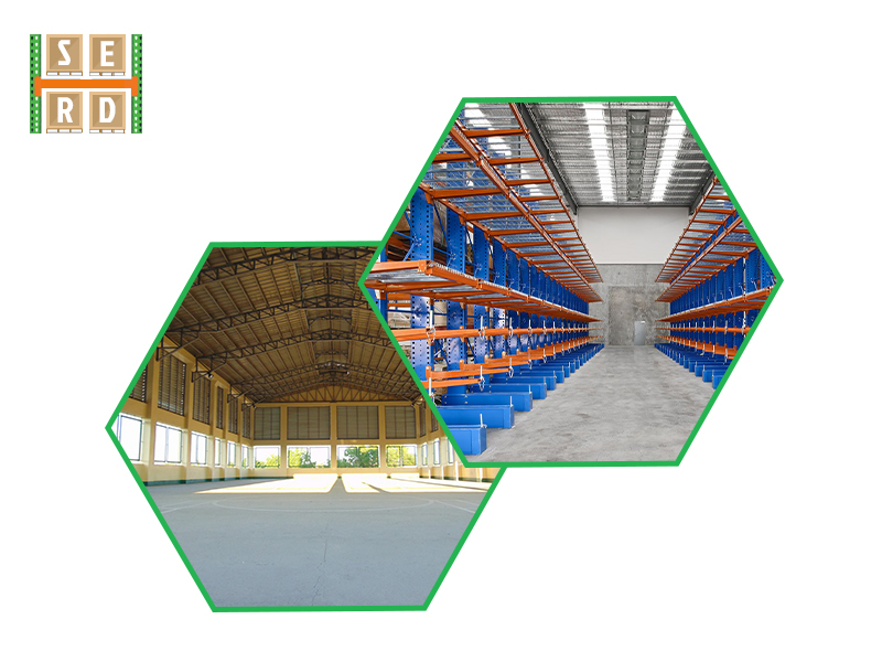 empty-warehouse-and-warehouse-with-brand-new-hiline-style-warehouse-racks