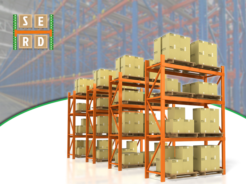 assembled-structural-steel-racks-with-storage-items-for-warehouse