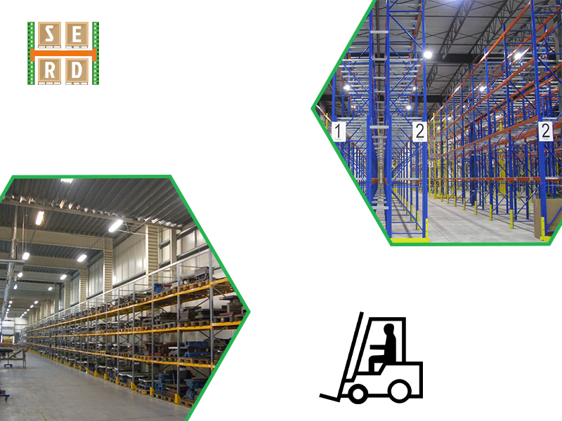 used-blue-and-orange-heavy-duty-racks-with-red-and-blue-storage-units
