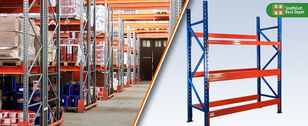 new-red-and-blue-light-shelving-rack-and-used-pallet-racks-with-storage-in-background