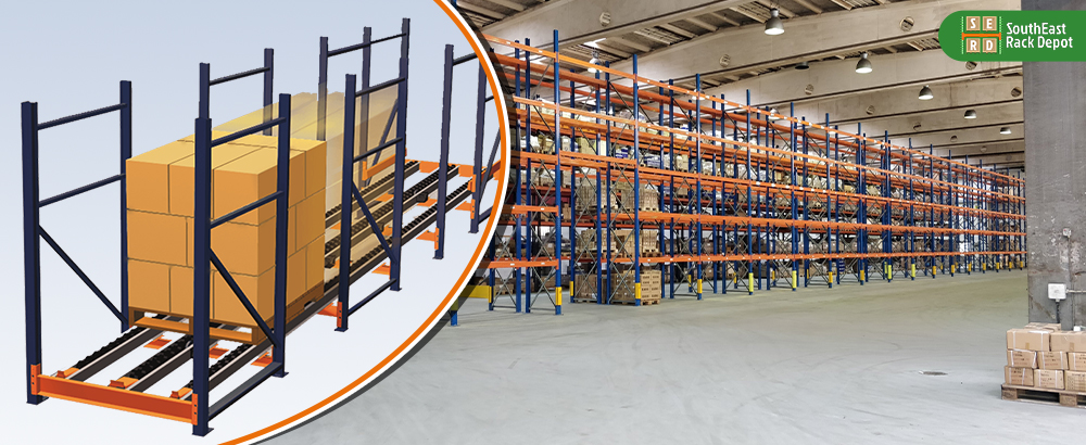 blue-and-red-pallet-racks-with-brown-storage-boxes