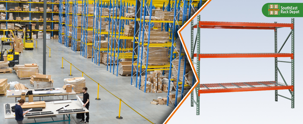 green-and-red-storage-rack-and-workers-storing-boxes-in-pallet-racks-in-background