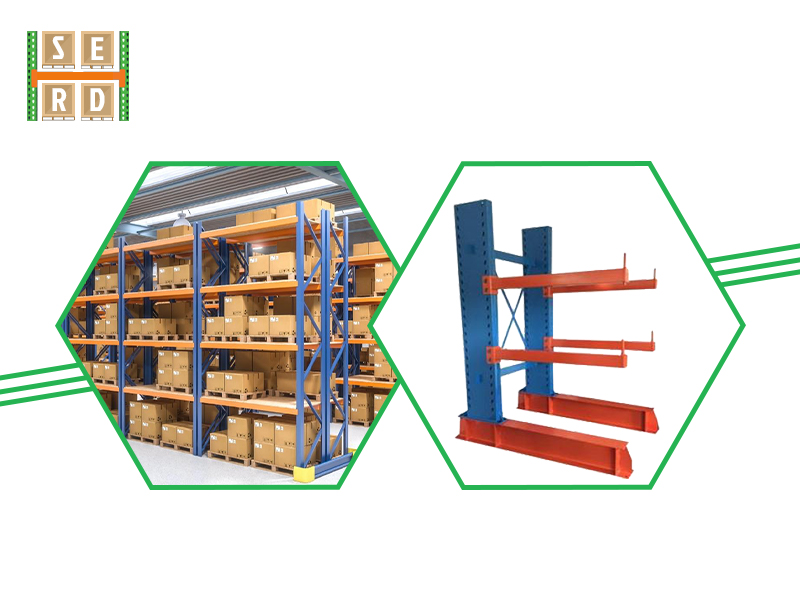 blue-and-red-light-shelving-rack-with-brown-boxes-and-forklift-storing-boxes-in-warehouse-pallet-racks-in-background